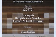 Auszeichnungen_1.-Preis-beim-HolzArt-Designwettbewerb-2014-Urkunde