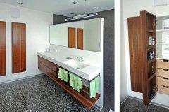 Badezimmer_Badezimmermoebel-in-Nuss-massiv-farblos-lackiert-Korpusse-in-Wand-versenkt