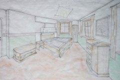 Entwuerfe_Perspektive-eines-Schlafzimmers-in-massiven-Eichen-und-Eschenholz